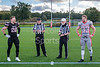 3 October 2021 at Peffermill. BAFA Caledonian Division match  Edinburgh Wolves v East Kilbride Pirates.