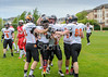 13 May 2017 at Meggetland, Edinburgh. BAFA Premier Division North American Football - Edinburgh Wolves v Tamworth Phoenix