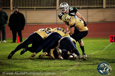 Bendigo Dragons v Croydon Rangers 12 July 2014