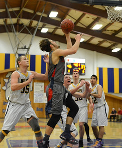 Gridley beats Las Plumas on the basketball court Friday, Feb. 3, 2017, in Gridley, California.  (Dan Reidel -- Enterprise-Record)
