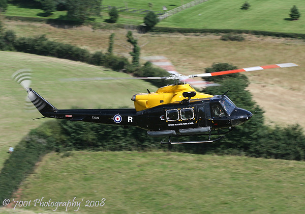 ZJ239/'R' (DHFS/60(R) SQN marks) Griffin HT.1 - 14th August 2008.