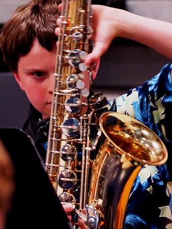 Griffin Saxophone 2014 Jazz Band