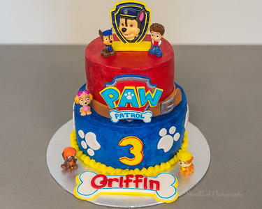 Griffin is 3!