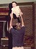 1960s CO Family Bill tossing Tracee at the Grigsbys on Yale St