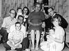 1966/12 Family Murry, James, Phil, Jodi, Pat, Gert, Devin, Bob and Mick at 170Magnolia in Denver