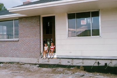 Murry, Pat and James watched the construction of the house on Owens Street in Arvada, CO in 1965 & other houses later.