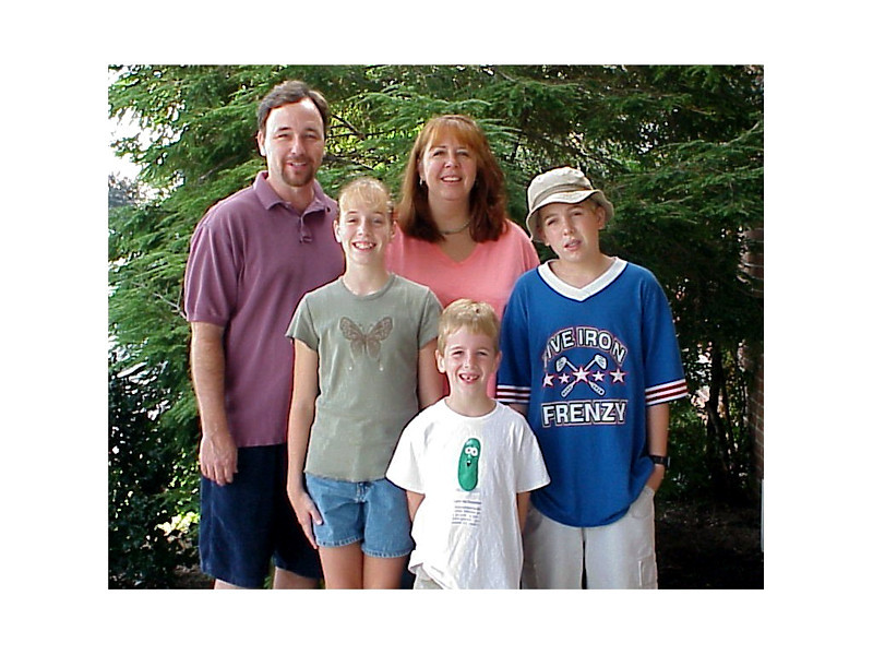 1999/09 Jim, Melissa, Linda, Ben and Josh Grigsby in PA