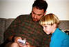 1996 TX Jim and Ben with early electronics