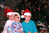 1996/12 Melissa Ben and Josh Christmas in Houston