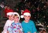 1996/12 Melissa Ben and Josh Christmas in Houston