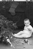 1960 CO Columbine apartment James with Christmas tree down