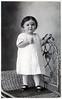 1913 Gertrude Montagne Bergman<br /> About age 2, 1913