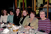 "2007 - This image was taken at Piccolo's restaurant at 3563 South Monaco Parkway and Hampden Avenue in Denver during dinner with the Miers' clan after Thanksgiving Day.  The people in the image are from left to right:  Janet Miers, Sue Miers Reeves,  Tracee Grigsby Turner, Holly Kottenstette Fritz, Terry Miers and Barbara Grigsby.  Jim Reeves,  Tommy Reeves and Bill attended with the ""girls"" but didn't make the photograph to prevent marring the pulchritude!!  Wouldn't sister Ann have loved to be here for this gathering!?"