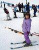 2006/snow - A photograph from Holly Kottenstette Fritz showing her Anne Maree skiing on the only hill in Seattle that has skiing available.  Holly said that it was very crowded but that Anne (6 years old) enjoyed the skiing but little sister Kacey isn't ready for skiing yet.  Anne's Dad, Brian Fritz, is an accomplished skier but got lessons for Anne and she's apparently doing very well with them.