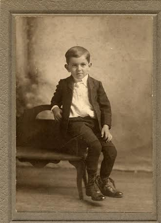 1907 Clarence L. Miers at about age six