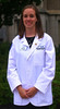 2012/08 Family PA Melissa with her med school white coat