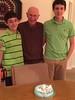 2015 Jack, Bill and Ryan on Bill's 81st birthday
