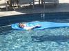 2012 Ryan floats in pool