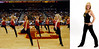 """2008 - Mackenzie at USC.  The left side image in this composite shows the University of Southern California's """"Trojan Dance Force"""" in action doing one of their dance routines at a men's or women's basketball game this past season during Kenzie's freshman year.  Kenzie is in the front row on the right.  The right side image of the composite is Kenzie performing her routine for the photographer.  There are only 14 women chosen for the team so being selected as a fresh-woman was quite remarkable!  I think immigrant John Grigsby who came from England to Virginia in about 1663 would be pretty impressed to see what his ~9th great grand daughter was doing!  If you are interested in more information about the team you can find it at the following Web site:<br /> <br />         <a href=""""http://usctrojans.cstv.com/genrel/012708aab.html"""">http://usctrojans.cstv.com/genrel/012708aab.html</a>"""
