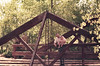 1960 Family CO Murry and James on a bridge