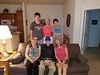 2016/09/21 CO Denver Family photo F L/R Tracee Grigsby Turner, Bill Grigsby, Kendall Grigsby Carbone--B L/R Ryan Carbone, Barbara Billinger Grigsby and Jack Carbone.  Photographer Steve Carbone.
