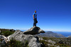 2013./02 Family Dare-devil David Cooper on Table Top Mountain in Cape Town, South Africa