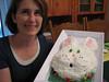 2012 Jodi and Easter cake