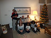 2011/12 Family Kendall, Ryan, Tracee, Jack, Bill, Bryce, Barbara, Kristal and Carter pose for a Christmas photo in Denver at Bill and Barbara's house.