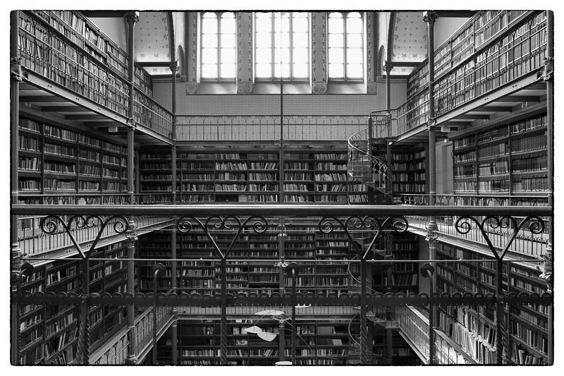 Library Rijksmuseum, Amsterdam 2014