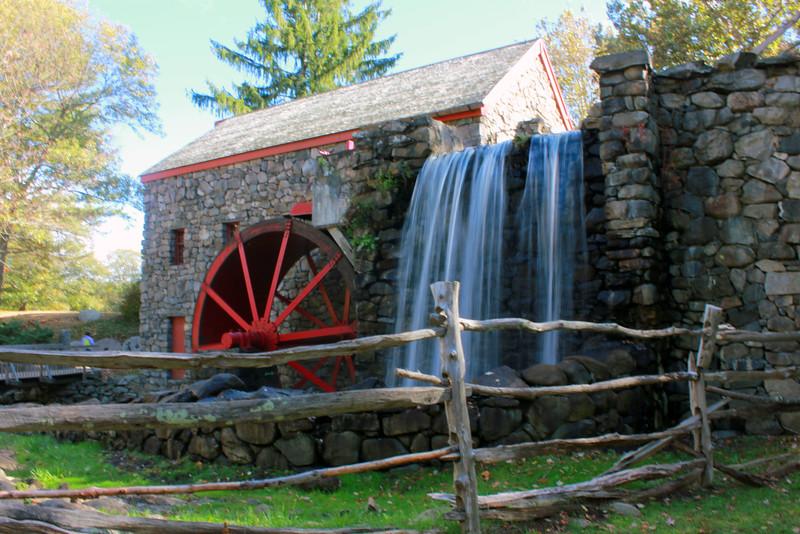 Wayland Grist Mill ~ Wayland MA