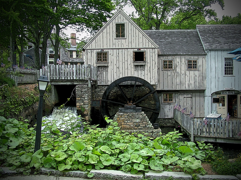 Jenney Grist Mill - Plymouth, MA