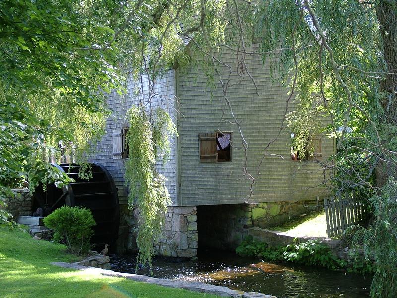 Dexter's Grist Mill ~ Sandwich, MA