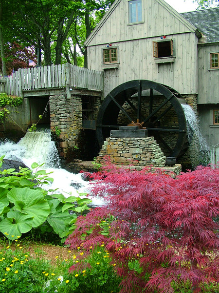 Jenne Grist Mill - Plymouth, MA