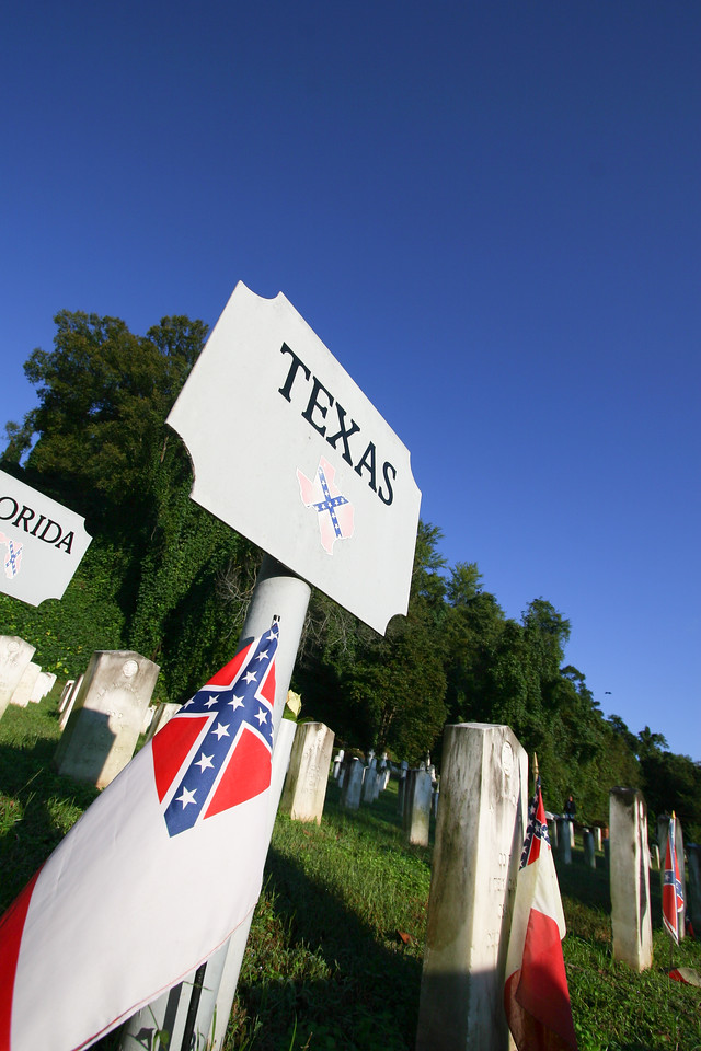 Southern cemetery's provide some great opportunities for photos. These signs were found throughout the delta.