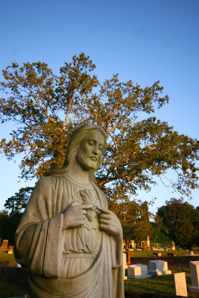 Southern cemetery's provide some great opportunities for photos. Some old churches and other items found inside the church that represent our southern faith.
