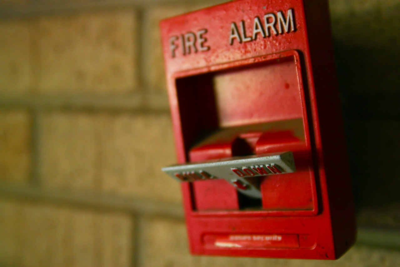 Pulled fire alarm Great southern buildings and architecture from our past and present.