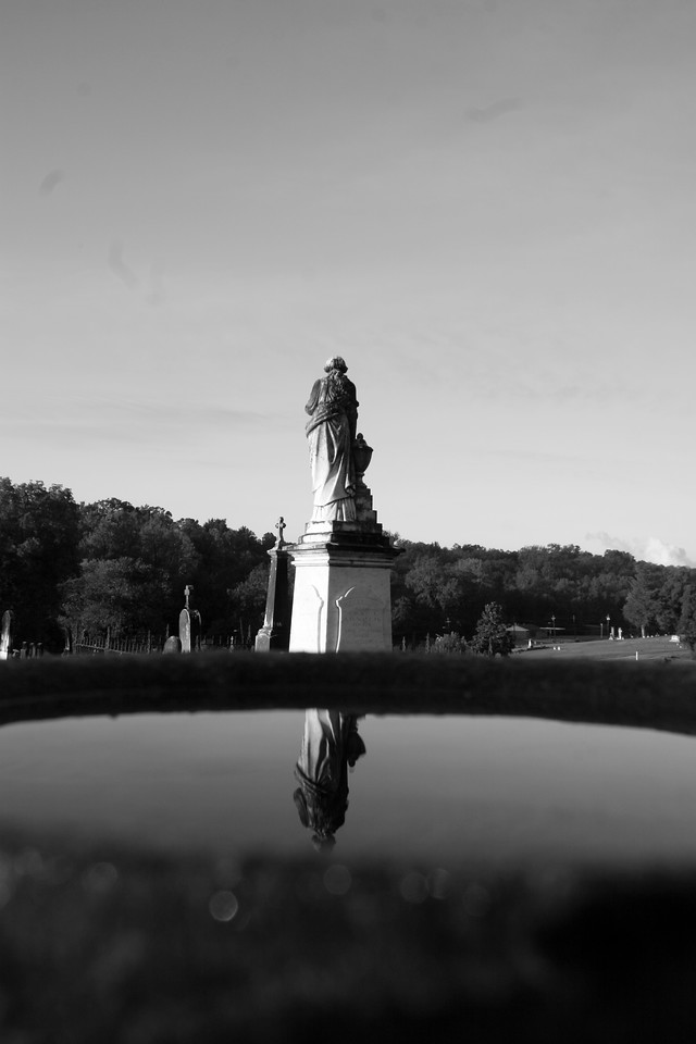 Some photos just scream for Black and White! These Mississippi Delta photos are no exception. Southern cemetery's provide some great opportunities for photos. Oh what beautiful photos we get when we mix that Southern water with a southern sunrise or sunset!