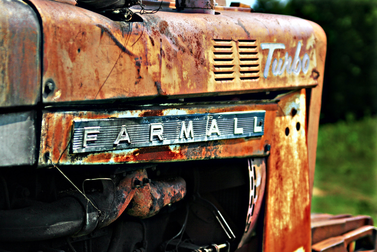Farmall Turbo Southern transportation comes in all forms. From tractors to mules, from trains to boats!