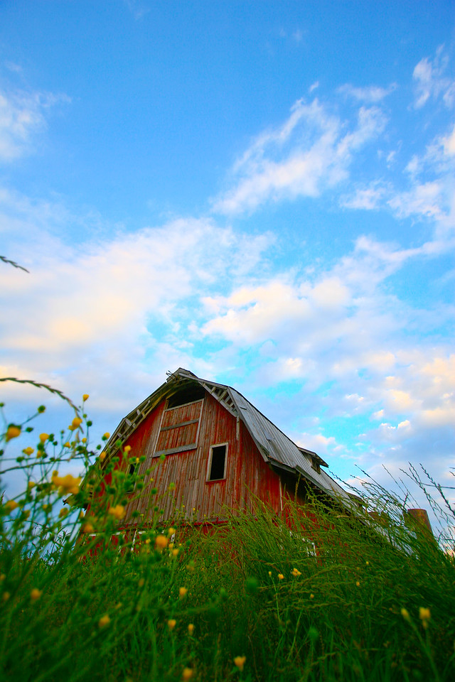 Big Red Barn - Rolling Fork Mississippi.
