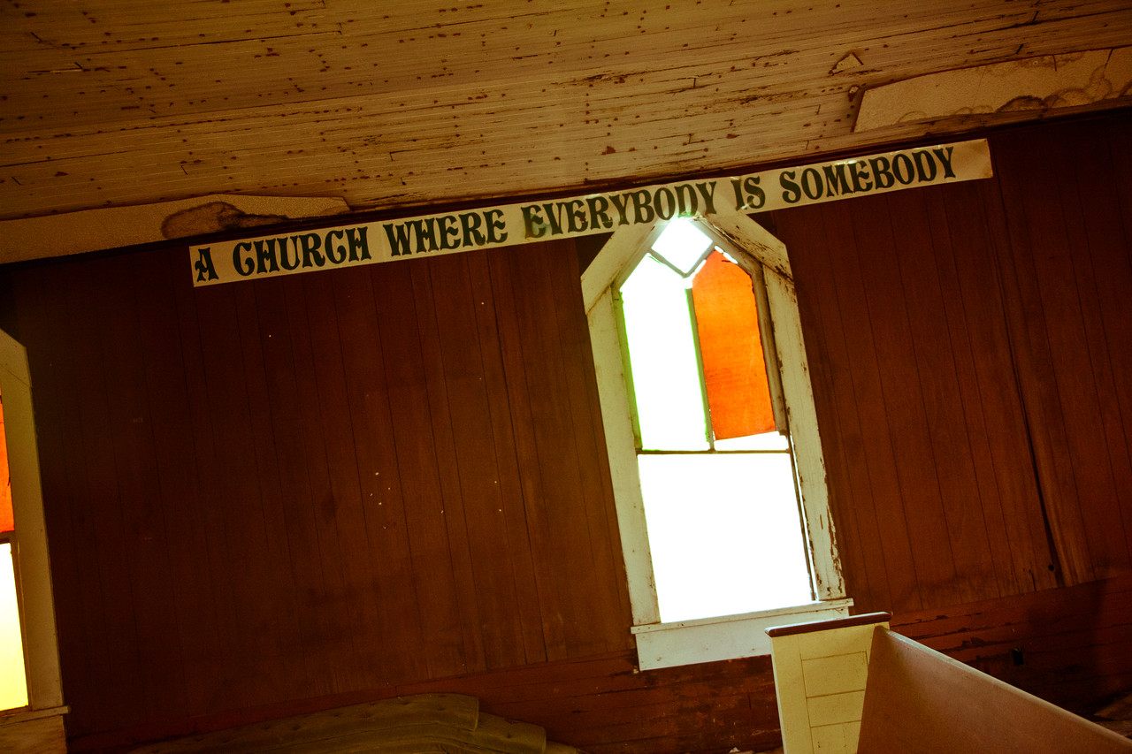 A church where everybody is somebody