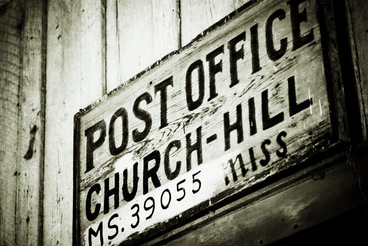 FavSpot - Old Post Office, Church Hill, MS 31.715510, -91.238440