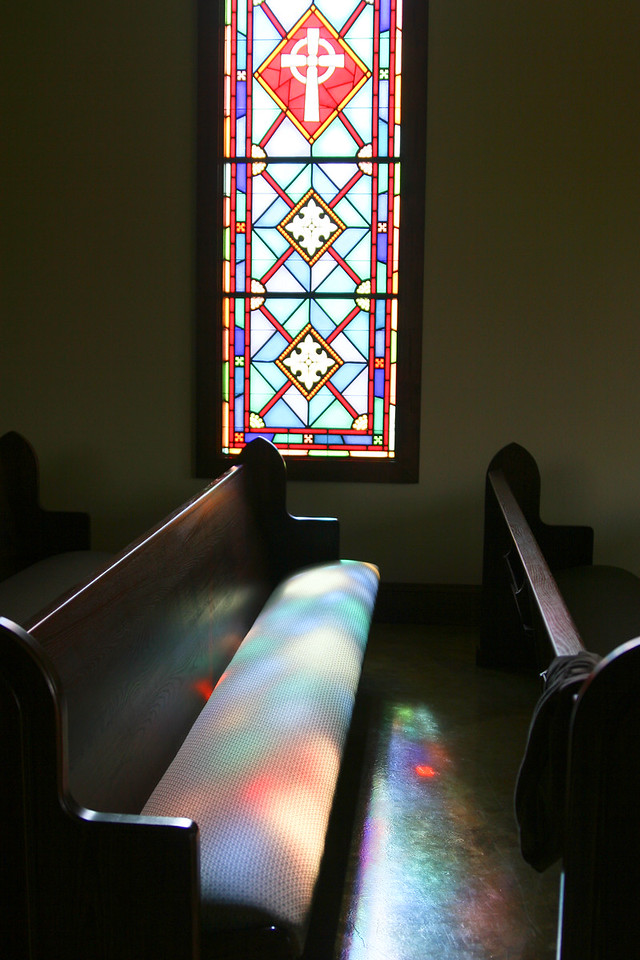 Oh what beautiful photos we get when we mix that Southern water with a southern sunrise or sunset! Some old churches and other items found inside the church that represent our southern faith.