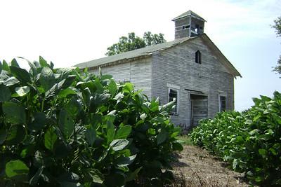 Photo Set - Black and White Church
