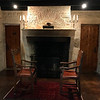 Salon fireplace (1 of 2 fireplaces in the room)
