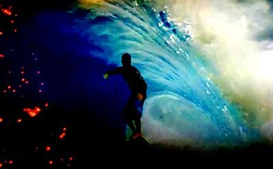 Christmas Surfer
