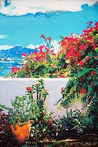 Caribbean Flower Garden