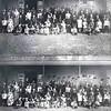 F0271 <br /> Het 50-jarig huwelijksfeest van Johanna Keijzer-Ouwersloot en Abraham Keijzer in 1927 in café 'De Oude Post'. De foto is genomen in café de Oude Post Hoofdstraat 99, aan de achterzijde onder de waranda. Eigenaar was toen Adriaan Schrama.<br /> Het echtpaar had 12 kinderen waarvan er 10 op de foto staan, de andere 2 waren in Amerika. De opname heeft verschrikkelijk lang geduurd, voordat iedereen er naar de wens van de fotograaf op kwam te staan.<br /> <br /> 1 Cor Haasnoot<br /> 2 Mien Haasnoot<br /> 3 Dirk Haasnoot<br /> 4 Hannes Haasnoot<br /> 5 Jaan de Vreugd<br /> 6 Arendje de Vreugd<br /> 7  Bram de Vreugd<br /> 8Hans Geven               <br /> 9 Dirk Knetsch<br /> 10 ? Keijzer<br /> 11 ? Keijzer<br /> 12 Jo Keijzer<br /> 13 Arie Koppier<br /> 14 Jo Koppier<br /> 15 Neeltje Koppier-Keijzer<br /> 16 Arendje Hilleger<br /> 17 Arendje Hilliger-Keijzer<br /> 18 Jo Hilleger<br /> 19 Jacob Haasnoot<br /> 20 Wilhelmina Haasnoot-Keijzer<br /> 21 Jaap de Vreugd<br /> 22 Antje de Vreugd-Keijzer<br /> 23 Cornelia Geeven-Keijzer<br /> 24 Jacoba Knetsch-Keijzer<br /> 25 Johanna Keijzer-Ouwersloot<br /> 26 Abraham Keijzer<br /> 27 ?<br /> 28 Arelis van der Tang<br /> 29 ?<br /> 30 Baafje Passchier<br /> 31 ? <br /> 32 ?     <br /> 33 ?<br /> 34 Tonia Heijns-Keijzer<br /> 35 Mien Heijns<br /> 36 Albert Koppier<br /> 37 Rie Hilliger<br /> 38 Mien Hilliger<br /> 39 ?<br /> 40 Geertje Plug<br /> 41 Henk Haasnoot<br /> 42 Jo Haasnoot<br /> 43 Anton Haasnoot<br /> 44 Jaap de Vreugd<br /> 45  Hannes de Vreugd<br /> 46Johan Geven<br /> 47 Dirk Knetsch sr.<br /> 48 ?<br /> 49 ?<br /> 50 Marijtje Keijzer<br /> 51 ?<br /> 52 ?<br /> 53 ?<br /> 54 Jan Heins<br /> 55 ?<br /> 56 ?<br /> 57 ?<br /> 58 Jaap Haasnoot<br /> 59 Antje Haasnoot<br /> 60 ?<br /> 61 Abraham Haasnoot<br /> 62 ?<br /> 63 ?<br /> 64 Willem van der Niet<br /> 65 Johanna Haasnoot<br /> 66 Aaltje Krosschell<br /> 67 Arie Keijzer<br /> 68 Tijmen Keijzer<br /> 69 ?<br /> 70 Sofie Keijzer<br /> Het kleine meisj