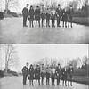 F1237  <br /> Op de schaats vóór Het Oude Koningshuys. Foto: januari 1917.<br /> <br /> 01<br /> 02<br /> 03<br /> 04<br /> 05<br /> 06<br /> 07<br /> 08<br /> 09