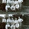 F1600 <br /> De uitgaansdag van de leden van de diaconie van de Geref. Kerk te Sassenheim. Foto: begin jaren '50.<br /> <br /> 01Gerrit Vos (Fl. Schoutenstr)<br /> 02Leen van de Kwaak (Postwijkkade)<br /> 03Kees Cusell<br /> 04Rinus Moolenaar<br /> 05Peter Vis<br /> 06Gerard Broekstra<br /> 07H. Colijn<br /> 08Piet Philippo