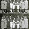 F0166 <br /> De familie Willem Smit van de Menneweg. In het gezin zijn 19 kinderen geboren waarvan er 4 zeer jong zijn overleden.<br /> Op deze gezinsfoto staan de ouders en de 15 kinderen. De foto is genomen naast de Gereformeerde Kerk aan de Julianalaan op 17 augustus 1939 bij gelegenheid van het huwelijk van zoon IJsbrand.<br /> <br /> 01An Smit<br /> 02Marie Smit<br /> 03Wim Smit<br /> 04Gerda Smit<br /> 05Truus Smit<br /> 06Gert-Jan Smit<br /> 07Emmy Smit<br /> 08Cor Smit<br /> 09Janny Smit<br /> 10Wil Smit<br /> 11Johan Smit<br /> 12Piet Smit<br /> 13IJsbrand Smit<br /> 14Moeder Jansje<br /> 15Vader Willem<br /> 16Dien Smit<br /> 17Aart Smit